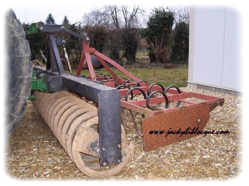 Fabrication support rouleau et attelage