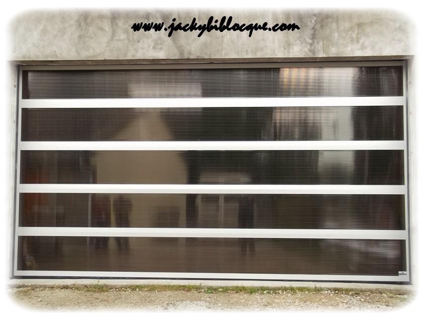 Biblocque jacky pose porte de garage sectionnelle - Porte de garage sectionnelle non motorisee ...