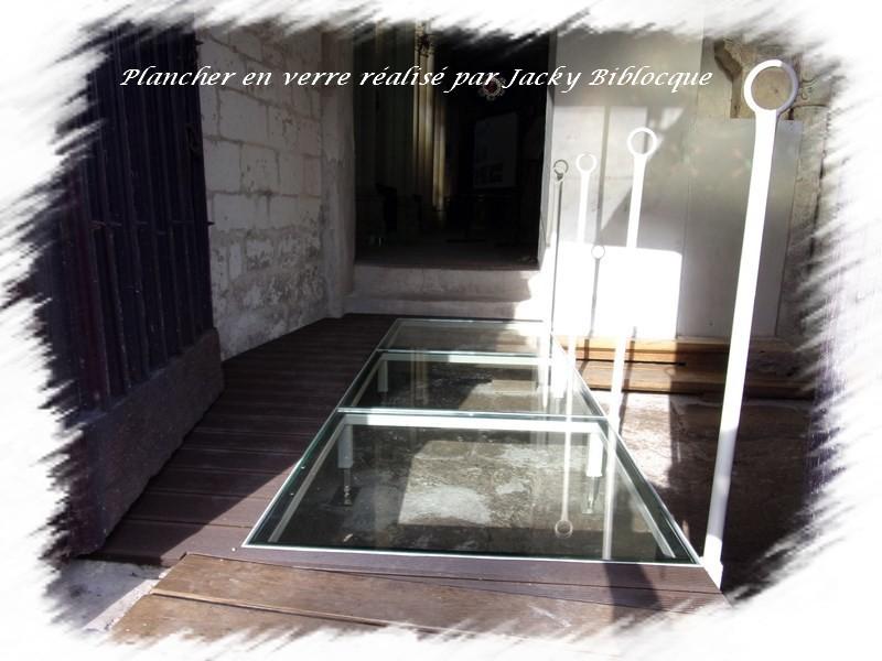 Fabrication plancher en verre croissy sur selle
