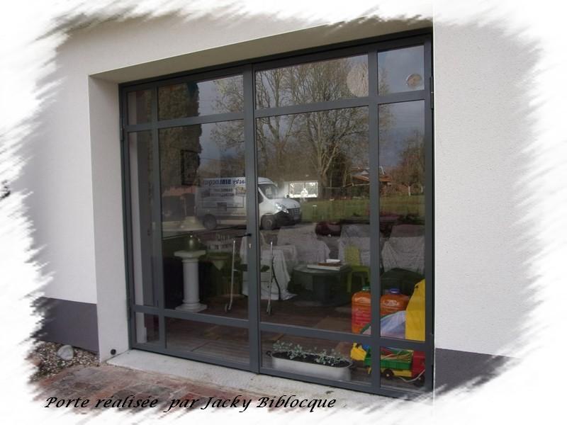 fabrication porte fenêtre en acier doullens amiens abbeville