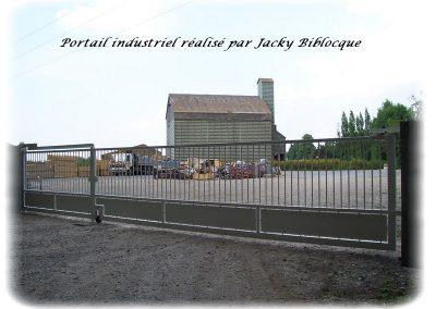 Portail industriel jacjy biblocque