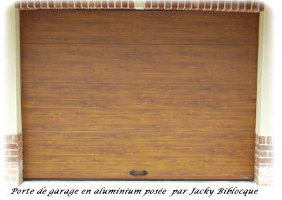 porte sectionnelle garage jacky biblocque