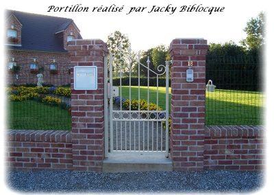 portillon jacky biblocque
