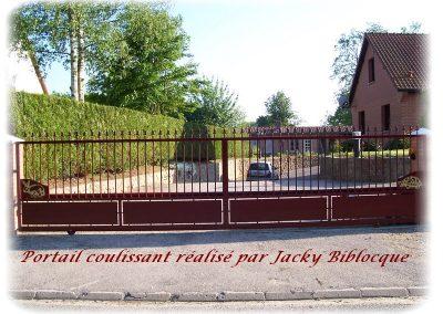 portail coulissant jacky biblocque