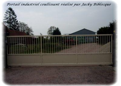 portail coullissant industriel jacky biblocque doullens frevent auxi le chateau bernaville abbeville